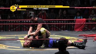 FULL Distromanía: Alberto El Patrón vs Jack Swagger