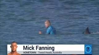 Mick Fanning Attacked by Shark - J-Bay final 2015 - atacado por tubarões na final do J-Bay 2015