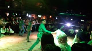 Vikingo y Elisa con mazter dance 2