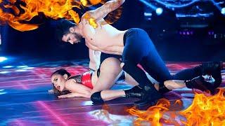 Silvina Luna subió la temperatura con su Reggaeton junto a Leandro Nimo