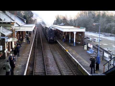 Winter Steam at Wymondham
