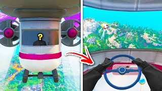 I Glitched INSIDE New BLIMPS and Found... (fortnite season 9 glitches)