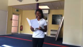 Sing it louder, Sung by Sofia Roshan Leicester