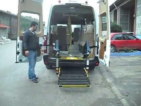 CTM OTOMOTİV'den RENAULT MASTER 13m3 - Engelli Taşıma Aracı