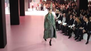 Dior F/W 2015 | Daria Shapovalova at Paris Fashion Week