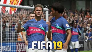 FIFA 19 Gameplay Skills , Goals and Celebrations Compilations 4K