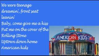 American Kids Kenny Chesney Lyrics
