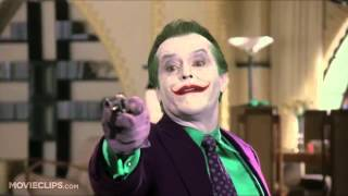 """You ever dance with the Devil in the pale moonlight?"" The Joker (Jack Nicholson) Batman 1989"