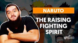 Videoaula THE RAISING FIGHTING SPIRIT (aula de guitarra)