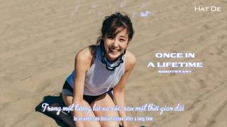 [Kara+Engsub+Vietsub] Once in a Lifetime - SNSD Tiffany @I Just Wanna Dance - The 1st Mini Album