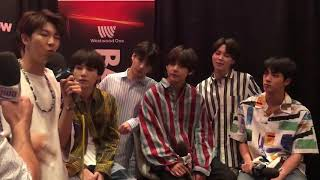BTS Backstage at the BBMAs 2018