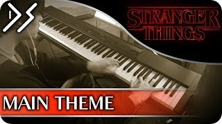 """Stranger Things - """"Main Theme"""" [Piano Cover] 