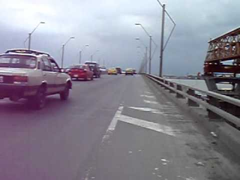 Crossing the Rio Guayas from Duran to Guayaquil