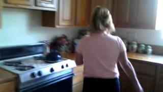 Hella funny ! Mom cleaning up dog puke...pt.2