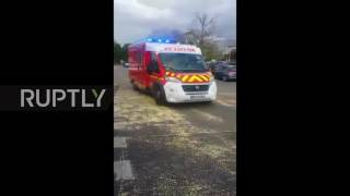 France: Fiery explosion at carnival outside Paris, at least 18 injured