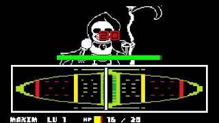 Grim Reaper Sans - ReaperTale - My custom Unitale Fight