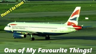 Planes and Flying British Airways London Gatwick Airport