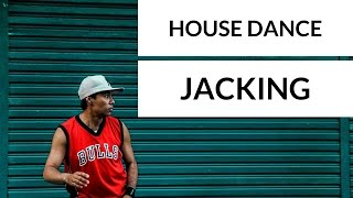 Tutorial House Dance Superdance   Jacking   Steps #1
