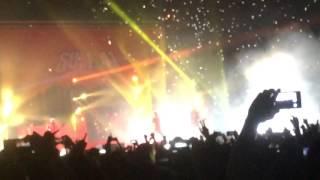 Sum 41 - The Hell Song (chorus) LIVE @ Madrid 18/01/2017 Concierto Palacio de los Deportes