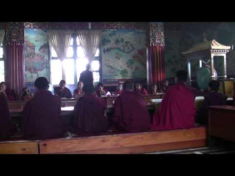 NEPAL Pokhara Boeddistische Tempel