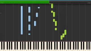 "BELLA'S LULLABY (Twilight theme) - Carter Burwell [piano tutorial by ""genper2009""]"