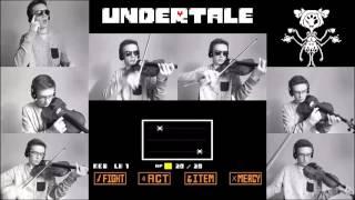 Undertale - Spider Dance(Muffet Battle Theme) - Violin cover