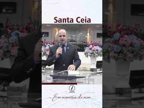 Santa Ceia - Comunicado!