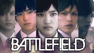 Ouran Live Action Drama MV - BATTLEFIELD - Haruhi feat. Tamaki, Kyouya & Hitachiin Twins