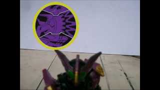 Kamen Rider OOO Candy Toy Show / Review