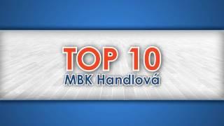 Top 10 MBK Handlová v Eurovia SBL 2016/2017