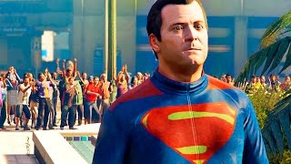 Batman v Superman: Dawn of Justice Trailer Recreated in GTA 5