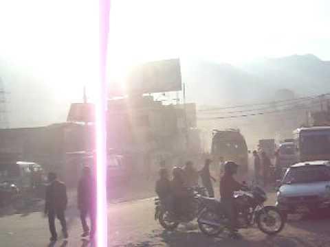 Traffic in Kathmandu/Nepal