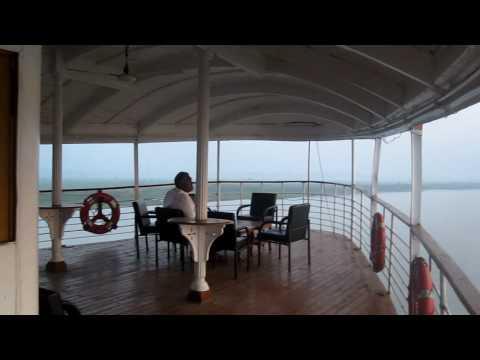 2009旅(55) ロケットスチーマーから眺める日の出【バングラデシュ】