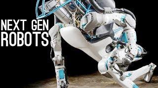 Next Generation Robots - Boston Dynamics, Asimo, Da Vinci, SoFi width=