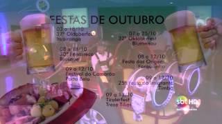 Maratona de festas de outubro em Santa Catarina começa nesta semana