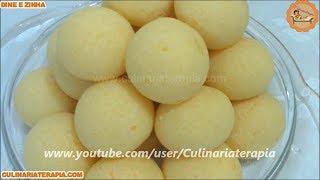 Pão de queijo fácil com massa à base de batata - Receita inédita da Dine Zinha