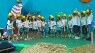 hino dos finalistas 2013 (creche e jardim de infância da biquinha)