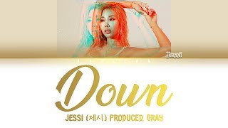 JESSI (제시) - 'DOWN' LYRICS [COLOR CODED HAN|ROM|ENG]