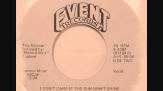 Curtis Johnson - I Don't Care If The Sun Don't Shine