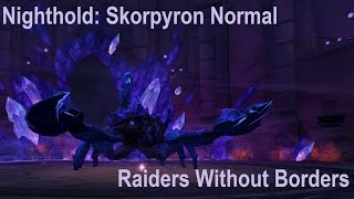 Skorpyron Normal Kill Video (RWB)