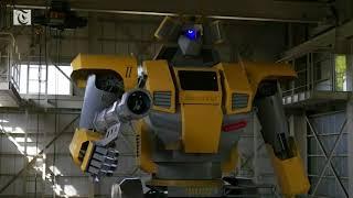 Japanese engineer builds real life Gundam robot
