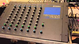 Tama Techstar TS 305 Analog Drum Module Quick sound test