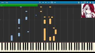 A Vampire's Lullaby - Synthesia piano roll and midi