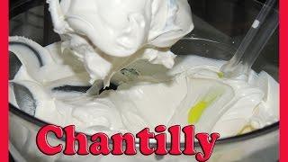 chantilly com leite em pó leite ninho