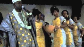 Lama Sidibe performing in Boston