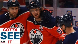 GOTTA SEE IT: Connor McDavid Blows By Defender, Dekes Marc-Andre Fleury For Beautiful Goal