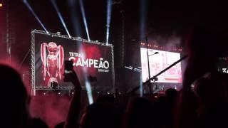Chegada do Benfica ao Marquês