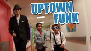 Uptown Funk music video performed by The Children's Hospital at Saint Peter's University Hospital