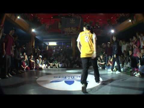 Kim (Rockin Chicks) vs Pitta (Tatanaka crew)