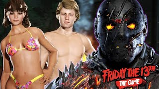 FRIDAY THE 13th Game - Spring Break 1984 Trailer DLC (2017)
